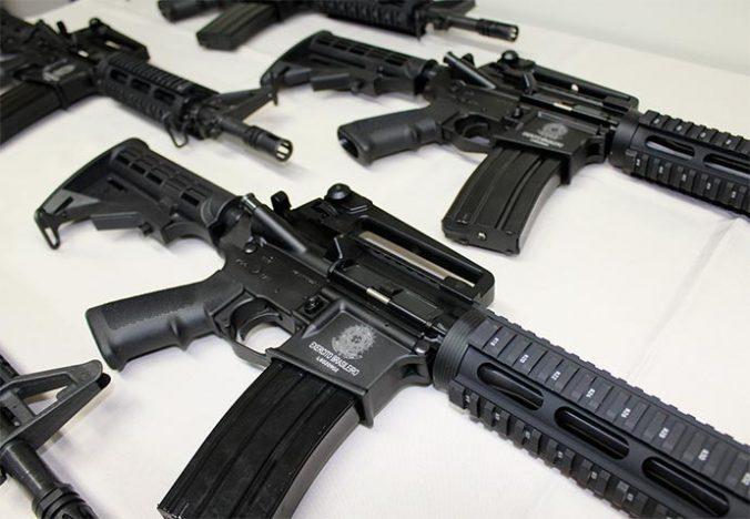 armas taurus 676x468 - Taurus doa armas ao Comando Militar do Sul