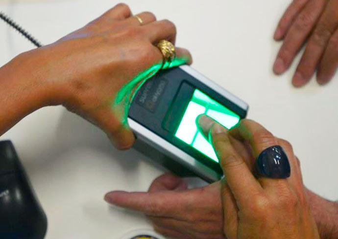 biometria - Sapiranga: Cartório Eleitoral fará plantões para cadastramento biométrico