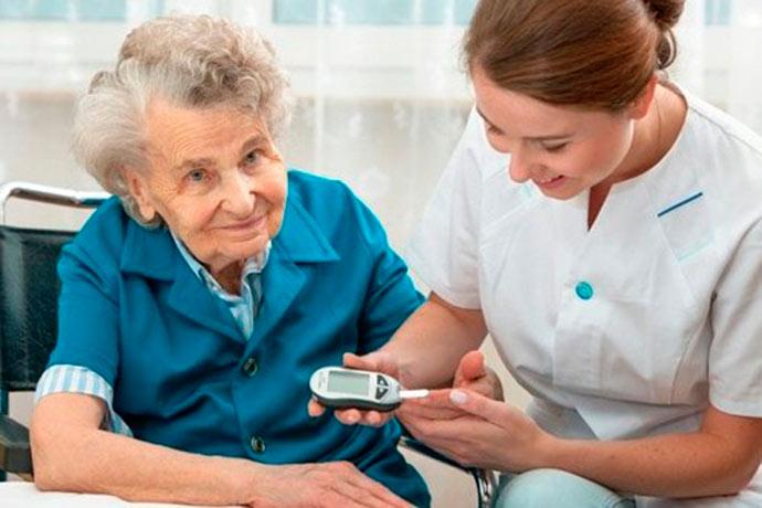 diab - Diabetes:1/3 dos idosos apresenta alteração no metabolismo da glicose