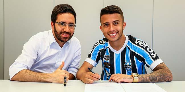 lg noticias gra mio exerce opa a o de compra de matheus henrique 22021 - Grêmio investe em jovens talentos