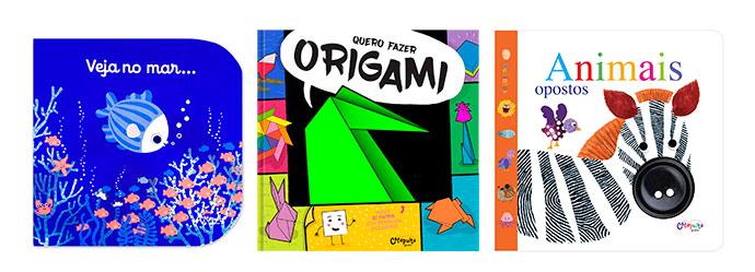 livro inf22 - Três livros criativos para crianças
