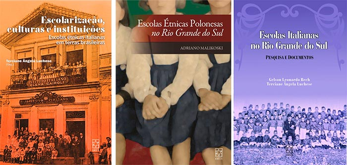 livros ucs - EDUCS lança seis livros durante a 34ª Feira do Livro de Caxias do Sul