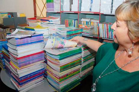 livros didaticos 2 - Alunos da rede pública receberão livros literários em 2019