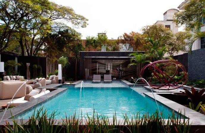 piscina1 - Cinco piscinas inspiradoras para o verão