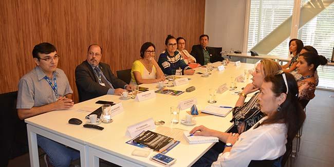 reunião com representantes do MDS programas federais - CNM apresenta demandas para regulamentar programas federais em lei