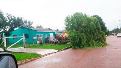 temporal 390x220 - Chuvas, ventos e granizo retornam ao RS nesta terça-feira