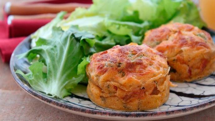 tortinha de legumes - Tortinha de legumes sem glúten