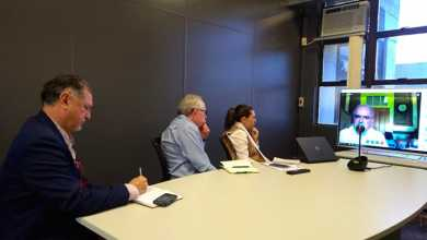 videoconf 390x220 - Tecnosinos participa de videoconferência entre Viana do Castelo e São Leopoldo