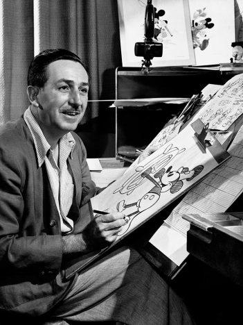 walt 351x468 - Disney - Mickey 90 anos - Curiosidades sobre o ratinho mais famoso do mundo