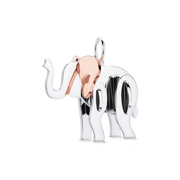 347637 830387 tiffany save the wild elefante prata e ouro rosA C    r 2.240 00  1  web  - Tiffany & Co. lança coleção de joias Save the Wild
