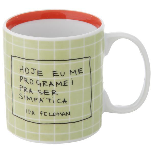 349193 836784 pra ser simpA tica caneca 330 ml web  - Tok&Stok faz parceria com Ida Feldman