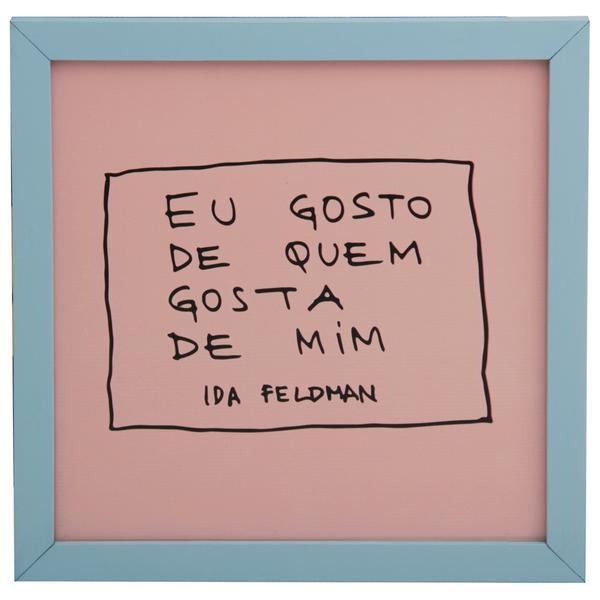 349193 836785 ida   quem gosta quadro 22 cm x 22 cm web  - Tok&Stok faz parceria com Ida Feldman