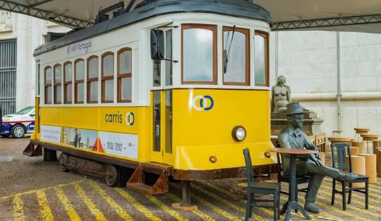 Bondinho de Portugal chega a Porto Alegre - Bondinho de Portugal chega a Porto Alegre para visitação gratuita