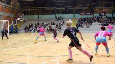 CampeonatoFutsalFeminino abre 390x220 - Iniciou sábado o 1º Campeonato Municipal de Futsal Feminino de Esteio