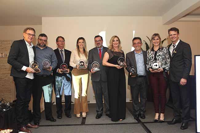 Empreendedores 10 anos Acibalc - Acibalc premia 25 empreendedores em noite de homenagens
