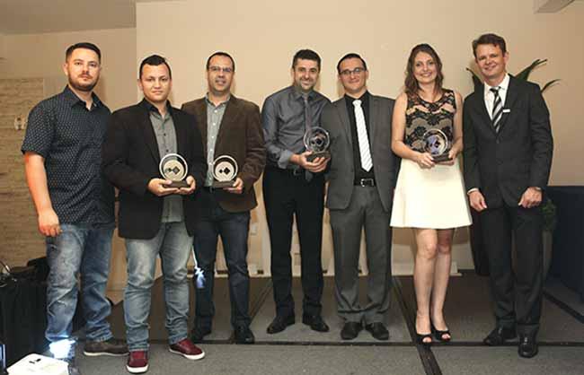 Empreendedores 5 anos Acibalc - Acibalc premia 25 empreendedores em noite de homenagens