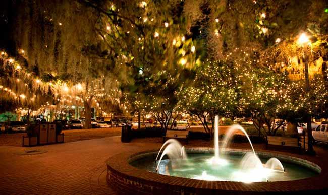 Flórida  - Natal iluminado é atração da Flórida