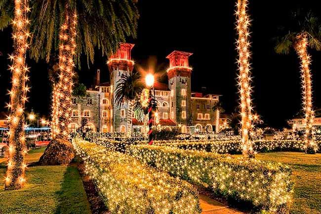Flórida 2 - Natal iluminado é atração da Flórida