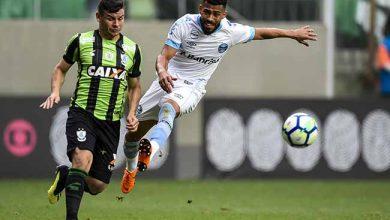 Grêmio empata 390x220 - Grêmio fica no empate com o América-MG