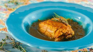 Guisado de frango ao açafrão 390x220 - Guisado de frango ao açafrão