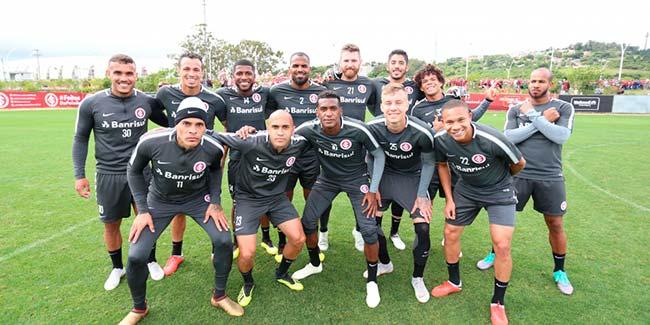 Inter treina para enfrentar o São Paulo - Inter encara o São Paulo no Beira-Rio