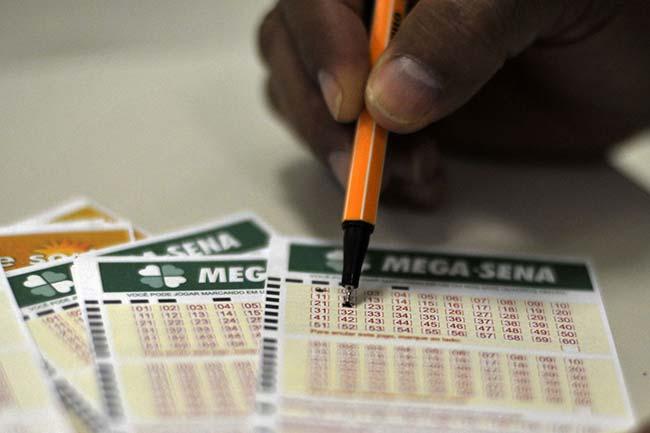 Megasena - Mega-Sena sorteia hoje R$ 125 milhões