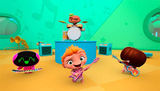 Mini Beat Power Rockers 1 - Mini Beat Power Rockers é indicada ao Emmy