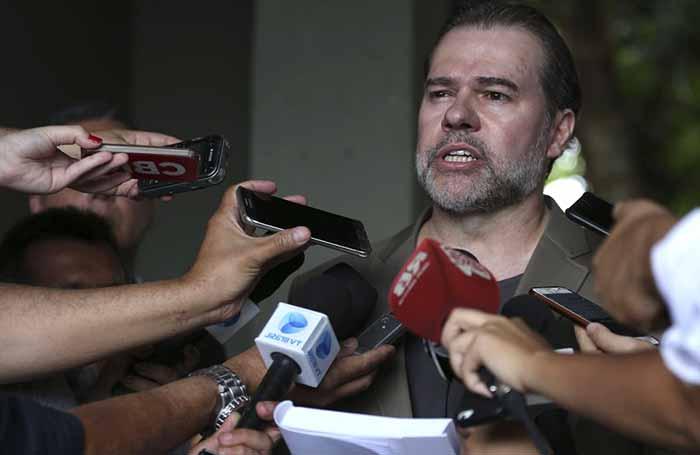 Ministro do STF Toffoli - Ministro Toffoli diz que presidente eleito terá de garantir pluralidade política