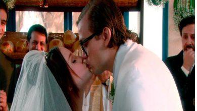 Mirela e Vinicius beijo cap 107 390x220 - As Aventuras de Poliana - Resumo dos Capítulos 104 a 108 (08.10 a 12.10)