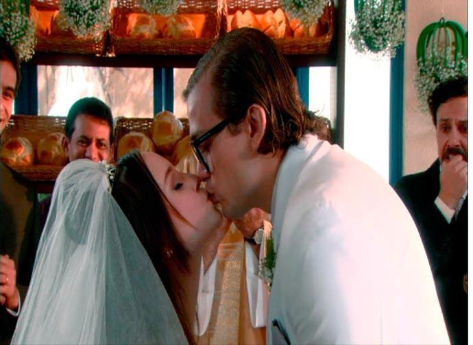 Mirela e Vinicius beijo cap 107 - As Aventuras de Poliana - Resumo dos Capítulos 104 a 108 (08.10 a 12.10)