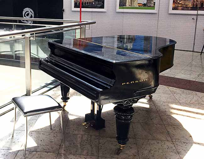 Moinhos Shopping Piano Schiedmayer de 1853 Crédito Divulgação - Moinhos Shopping coloca piano alemão do ano de 1853 à disposição do público