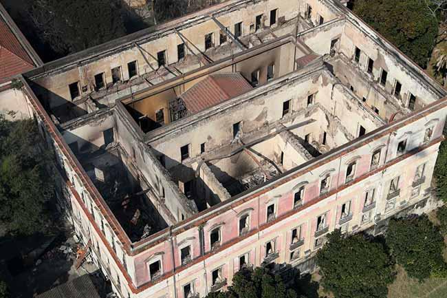 Museu Nacional - Museu Nacional quer repasse de R$ 56 milhões para reconstrução