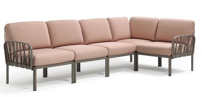 Nardi apresenta os sofás modulares Komodo - Nardi apresenta os sofás modulares Komodo