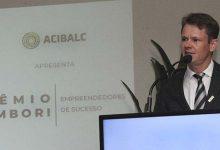 O Presidente da Acibalc Augusto Munchen 2 220x150 - Acibalc premia 25 empreendedores em noite de homenagens