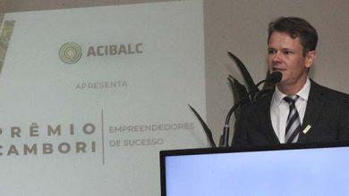 O Presidente da Acibalc Augusto Munchen 2 390x220 - Acibalc premia 25 empreendedores em noite de homenagens