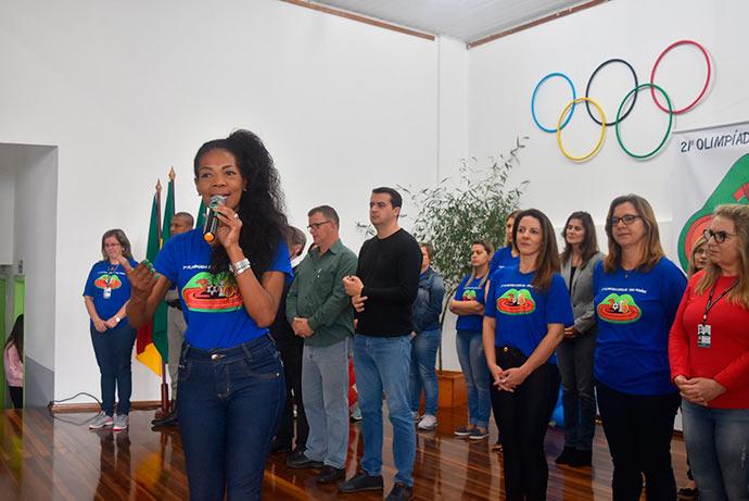Olimpíada Escolar de Dois Irmãos - Inicia a 21ª Olimpíada Escolar de Dois Irmãos