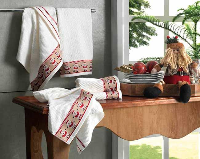 Pano de copa karsten noel - Karsten lança coleção de Natal