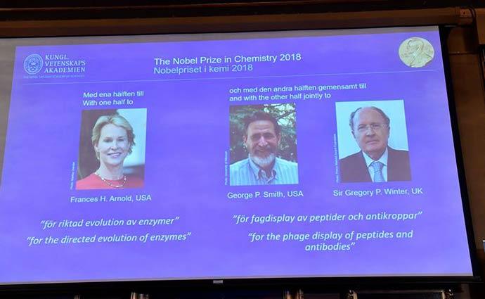 Prêmio Nobel de Química - Três pesquisadores ganham Nobel de Química estudando proteínas
