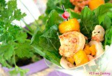 Salada de camarão 220x150 - Salada de camarão com manga agridoce