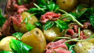 Tagliata 390x220 - Salada de Rúcula e Batatas com Tagliata
