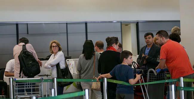 aero - Diminuem gastos com viagens ao exterior em setembro