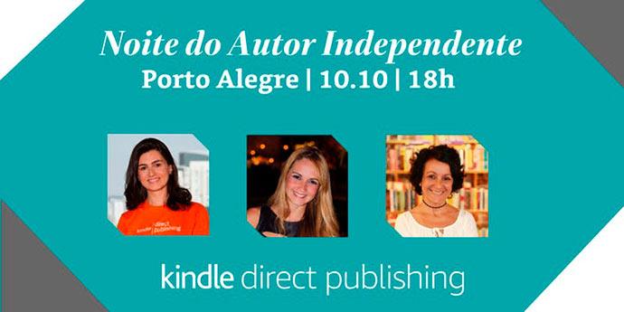autor - Amazon realiza em Porto Alegre evento para novos escritores e autores independentes