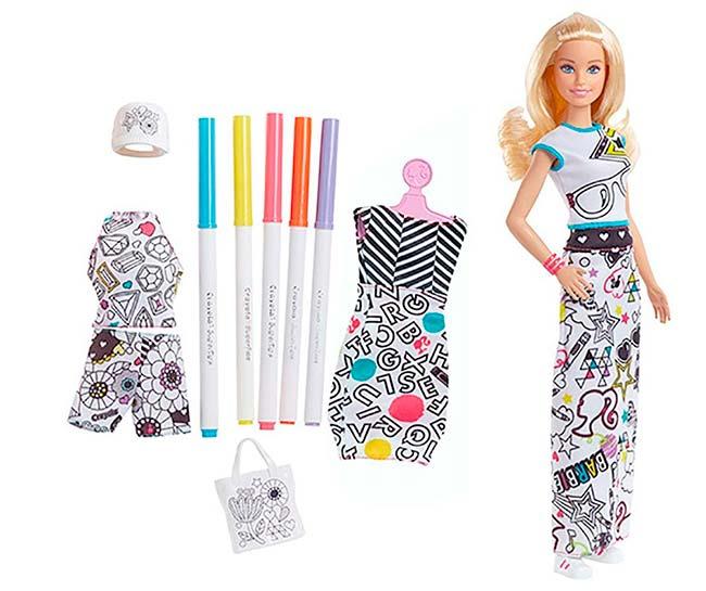 barbie - Nova linha Barbie x Crayola