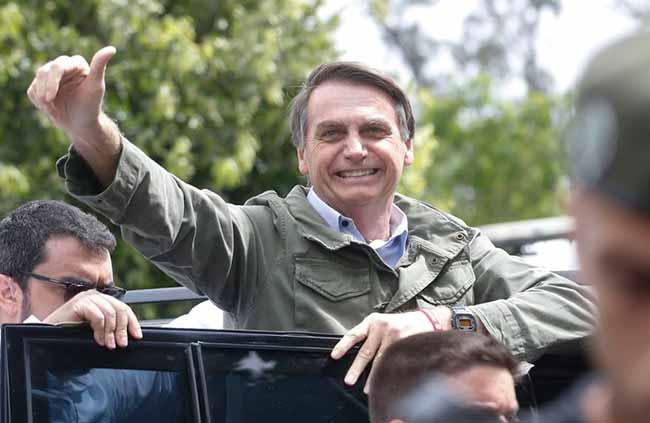 bolsonaro5 Tânia Regô Agência Brasil - Jair Bolsonaro se elegeu com vantagem de 10,7 milhões de votos