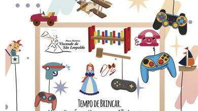 cartaz final para exposição criança1 390x220 - Tempo de Brincar inicia dia 12 no Museu Visconde de São Leopoldo