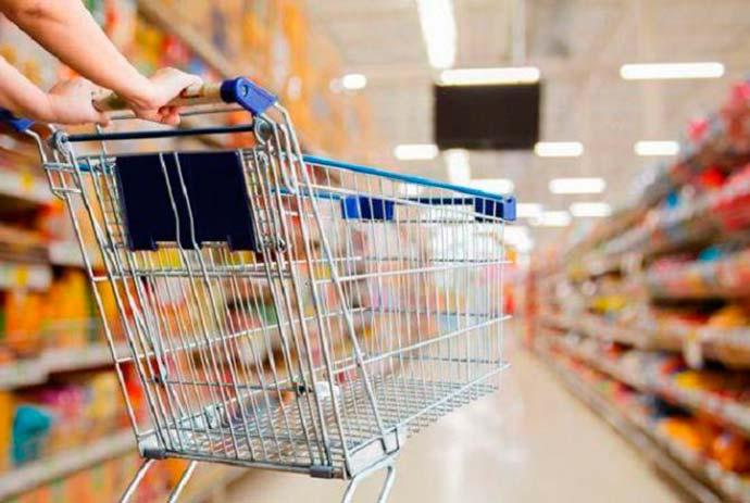 comercio - Vendas de supermercados sobem 1,92% em todo o país