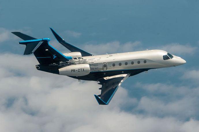courtesy embraer handout via reuters  - Embraer lança dois modelos de aviões executivos