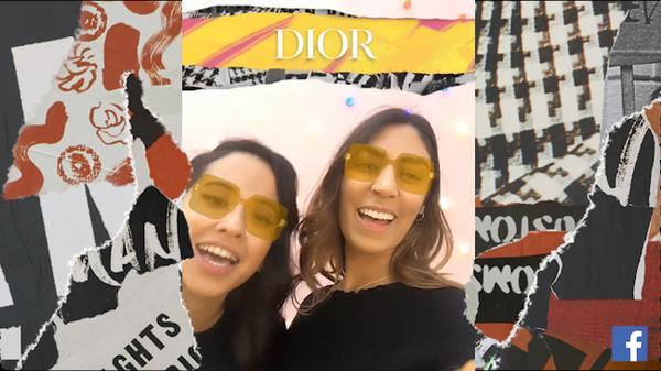 diorcolorquake facebook augmented reality 6 web  - Dior lança aplicativo fashionista no Facebook