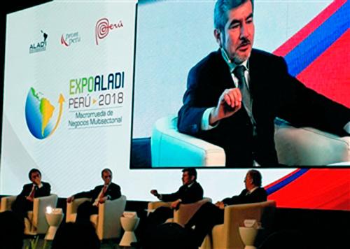 expoaladi - Brasil participa da Expo Aladi em Lima