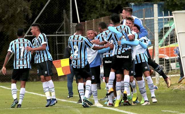 gremio bate o internacional e esta classificado as semifinais da copa sul sub 19 - Grêmio bate o Internacional na Copa Sul Sub-19